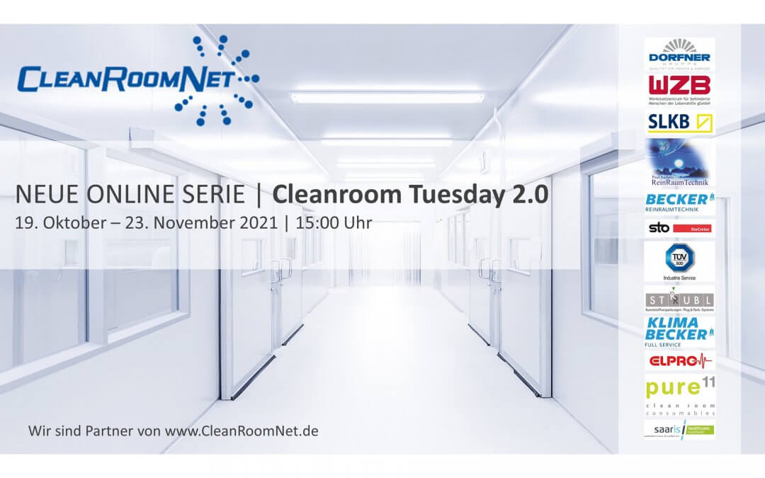 Neue Online Serie   Cleanroom Tuesday 2.0